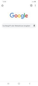 Samsung Galaxy S20 Plus 5G - Internet und Datenroaming - Verwenden des Internets - Schritt 18