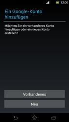 Sony Xperia T - Apps - Einrichten des App Stores - Schritt 4