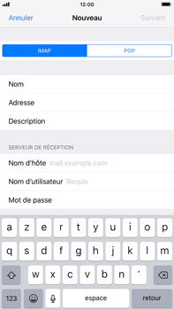 Apple iPhone 6 Plus - iOS 12 - E-mail - Configuration manuelle - Étape 13