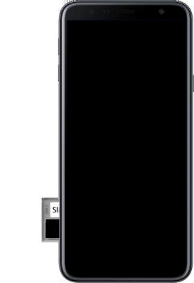 Samsung Galaxy J4 Plus - Appareil - comment insérer une carte SIM - Étape 10