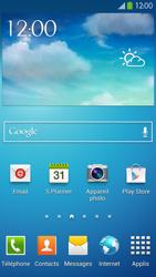 Samsung Galaxy S4 - Internet et connexion - Activer la 4G - Étape 1