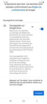 Samsung Galaxy S20 - Applications - Créer un compte - Étape 19