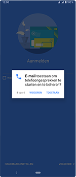 Sony Xperia 1 - E-mail - handmatig instellen (outlook) - Stap 13