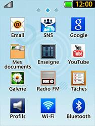 LG T580 - E-mails - Envoyer un e-mail - Étape 3