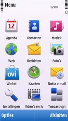Nokia C6-00 - MMS - afbeeldingen verzenden - Stap 2