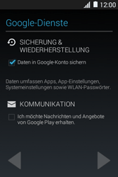 Samsung Galaxy Young 2 - Apps - Konto anlegen und einrichten - 15 / 25