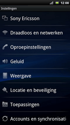 Sony Ericsson LT15i Xperia Arc - MMS - handmatig instellen - Stap 4