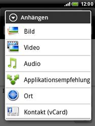 HTC A3333 Wildfire - MMS - Erstellen und senden - Schritt 16