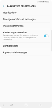 Samsung Galaxy Note9 - SMS - Configuration manuelle - Étape 6