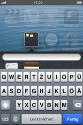 Apple iPhone 4S - Startanleitung - Personalisieren der Startseite - Schritt 6