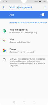 Huawei P30 - Toestel - Stel Zoek mijn mobiel in - Stap 6