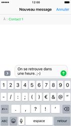 Apple iPhone SE - iOS 10 - MMS - Envoi d