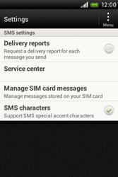 HTC A320e Desire C - SMS - Manual configuration - Step 5
