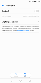 Huawei Mate 10 Pro - Bluetooth - Geräte koppeln - Schritt 7