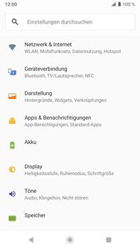 Sony Xperia XZ2 Premium - Android Pie - Ausland - Auslandskosten vermeiden - Schritt 6