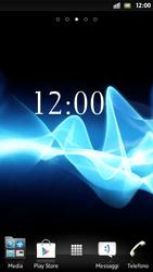 Sony Xperia S - Software - Installazione degli aggiornamenti software - Fase 1