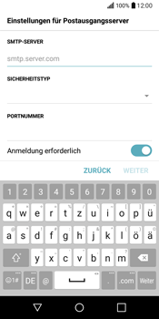 LG Q6 - E-Mail - Konto einrichten - 1 / 1