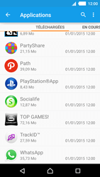 Sony Xperia M4 Aqua - Applications - Supprimer une application - Étape 5