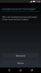 HTC One M8 - apps - account instellen - stap 4