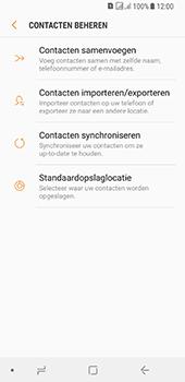 Samsung galaxy-a8-2018-sm-a530f-android-oreo - Contacten en data - Contacten kopiëren van toestel naar SIM - Stap 7