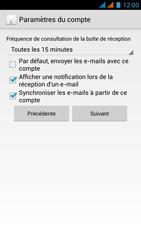 Wiko Rainbow - E-mail - Configuration manuelle - Étape 16