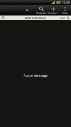 HTC S720e One X - E-mail - Configurer l