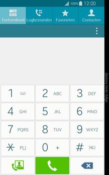 Samsung Galaxy Note Edge - voicemail - handmatig instellen - stap 4