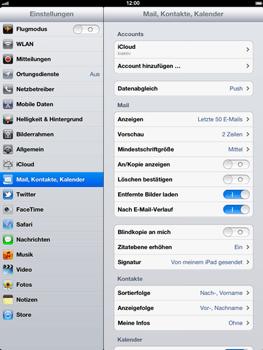 Apple iPad 3 - E-Mail - Konto einrichten - Schritt 4