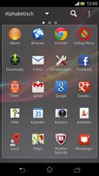 Sony Xperia V - Netzwerk - Manuelle Netzwerkwahl - Schritt 3