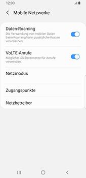 Samsung Galaxy S9 - Android Pie - Ausland - Auslandskosten vermeiden - Schritt 8