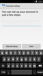 Acer Liquid Z410 - E-mail - Manual configuration - Step 6