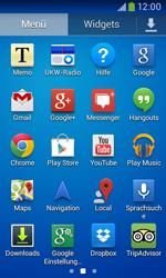 Samsung Galaxy Ace III - Apps - Einrichten des App Stores - Schritt 3
