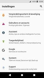 Sony Xperia XA2 (H3113) - Instellingen aanpassen - Fabrieksinstellingen terugzetten - Stap 4