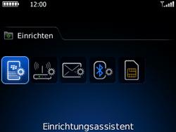 BlackBerry 8520 Curve - E-Mail - Konto einrichten - Schritt 4