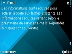 Nokia E71 - E-mail - Configurer l
