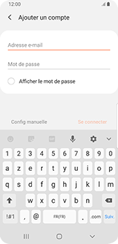 Samsung Galaxy S9 Android Pie - E-mail - Configuration manuelle - Étape 8