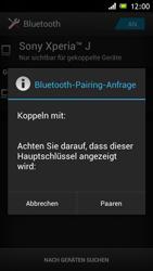 Sony Xperia J - Bluetooth - Geräte koppeln - Schritt 9