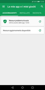 Huawei Mate 10 Pro - Applicazioni - Come verificare la disponibilità di aggiornamenti per l