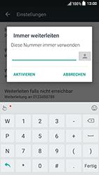 HTC One A9s - Anrufe - Rufumleitungen setzen und löschen - Schritt 7