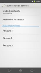Sony Xperia Z1 Compact - Réseau - Sélection manuelle du réseau - Étape 8
