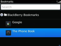 BlackBerry 9360 Curve - Internet - Internet browsing - Step 9