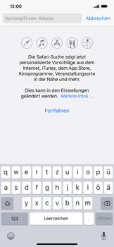 Apple iPhone 11 Pro Max - Internet und Datenroaming - Verwenden des Internets - Schritt 4