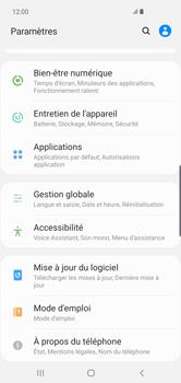 Samsung Galaxy S10 Plus - Prise en main - Comment ajouter une langue de clavier - Étape 4