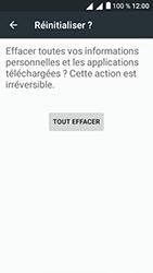 Alcatel U5 - Aller plus loin - Restaurer les paramètres d'usines - Étape 7