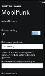 Nokia Lumia 610 - Ausland - Im Ausland surfen – Datenroaming - Schritt 7