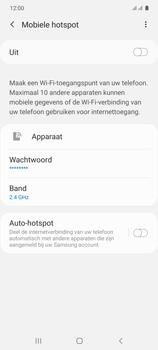 Samsung galaxy-s10-lite-dual-sim-sm-g770f - WiFi - Mobiele hotspot instellen - Stap 11