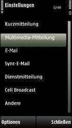 Nokia 5230 - MMS - Manuelle Konfiguration - 24 / 28