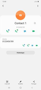 Samsung Galaxy A31 - Contact, Appels, SMS/MMS - Ajouter un contact - Étape 9