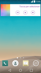 LG Spirit 4G - Operazioni iniziali - Installazione di widget e applicazioni nella schermata iniziale - Fase 8