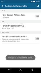 HTC One M9 - Internet et connexion - Utiliser le mode modem par USB - Étape 9